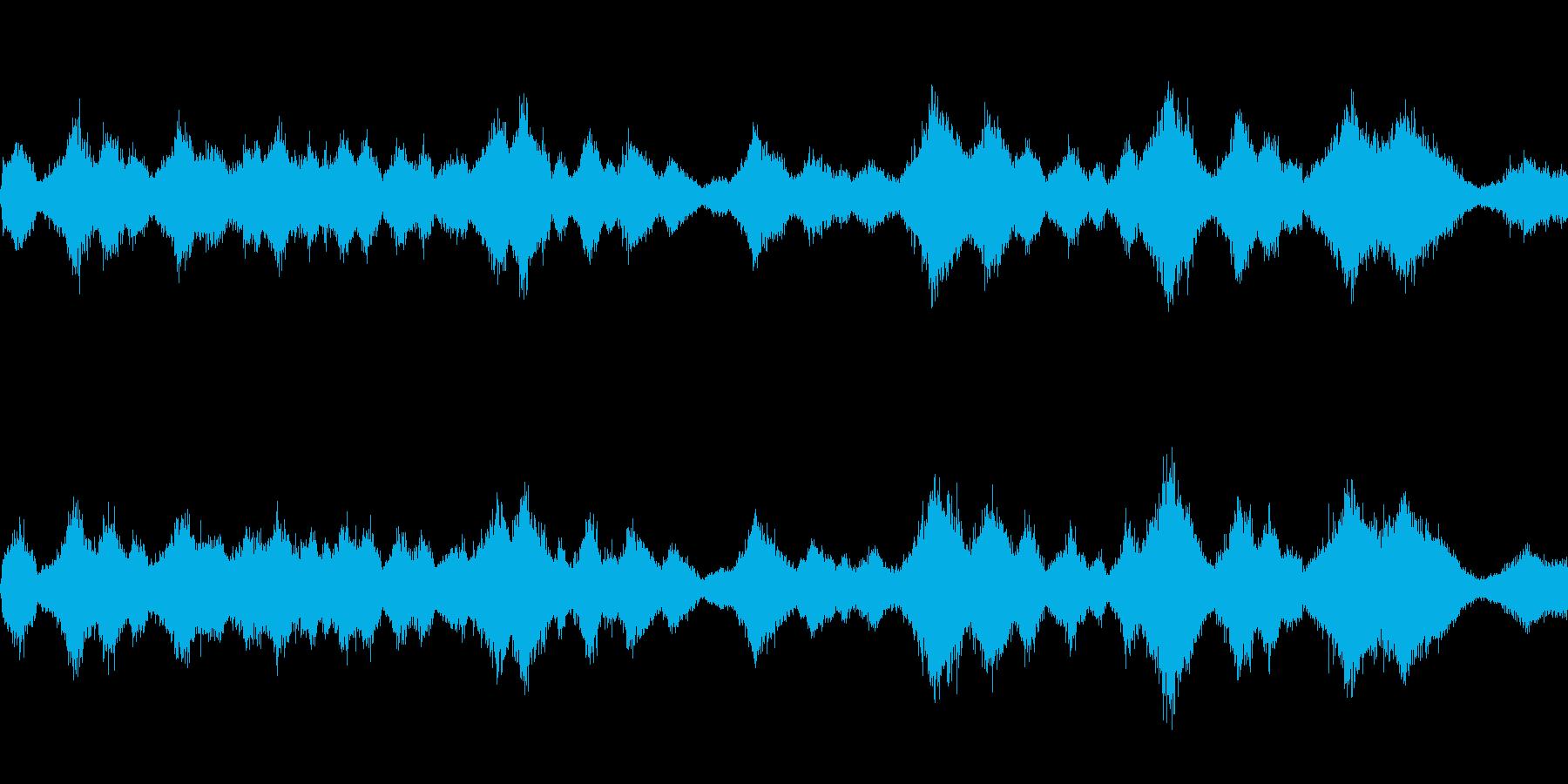 風が吹く1(環境音)の再生済みの波形