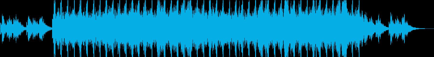 キュートなシンセによるミニマル系BGMの再生済みの波形