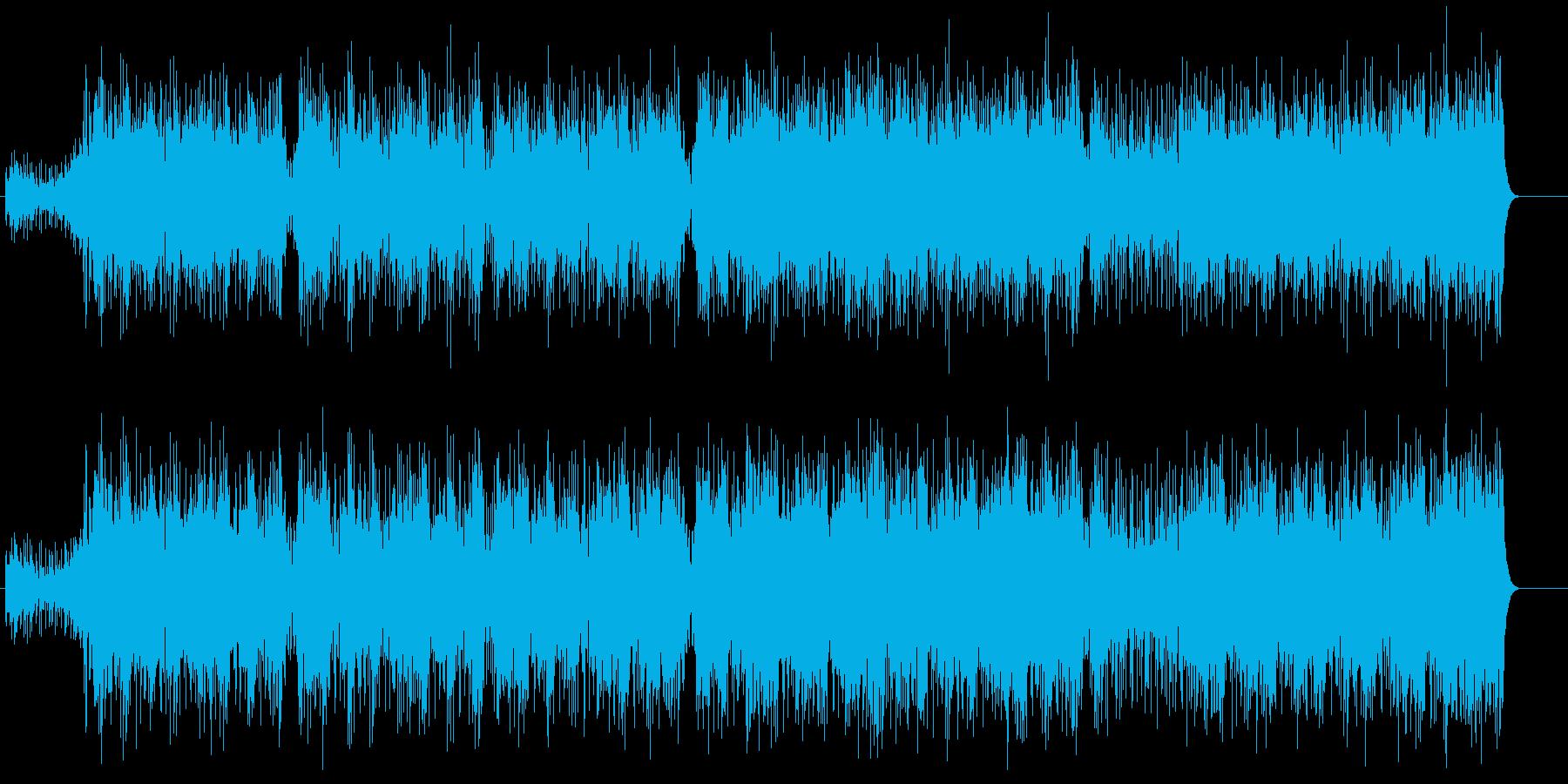 ポジティヴでスムースなアジッド・ジャズの再生済みの波形