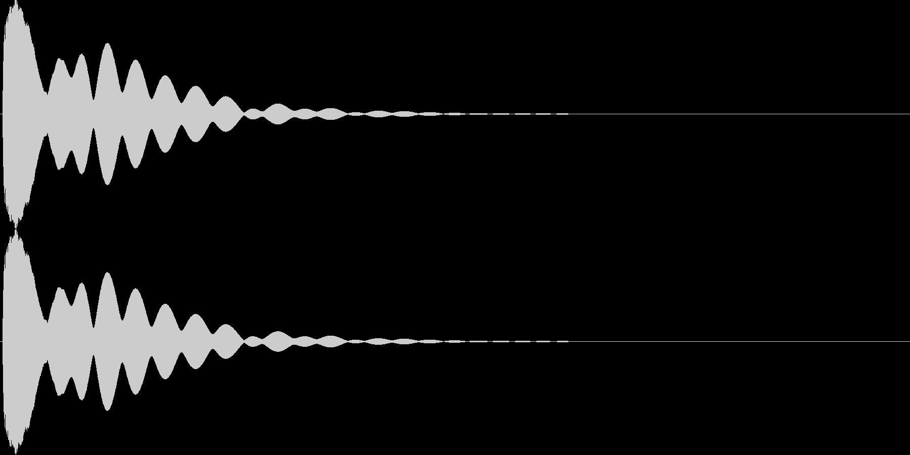 キュイン(飛ばされて星になる タイプ4)の未再生の波形