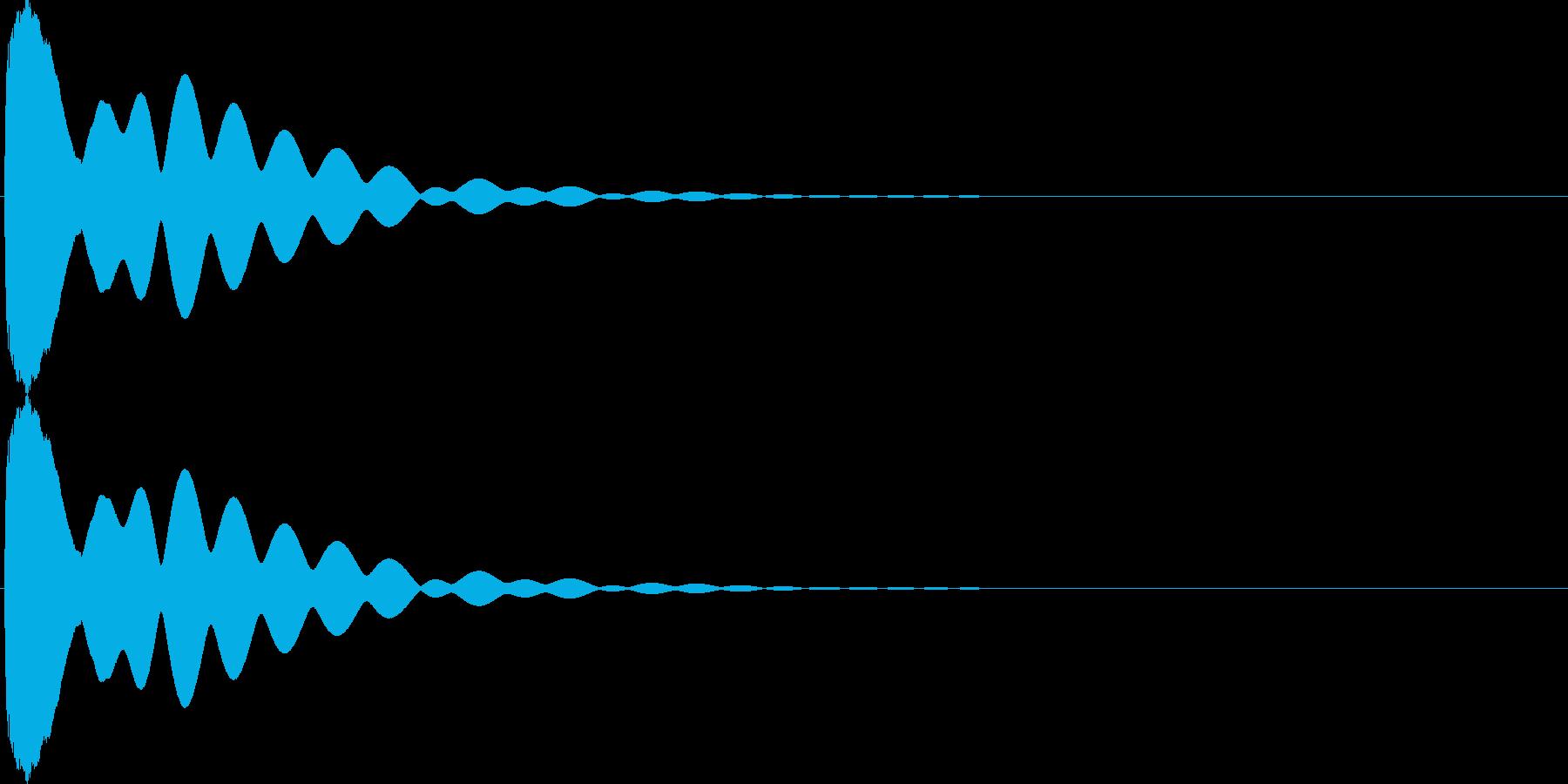 キュイン(飛ばされて星になる タイプ4)の再生済みの波形