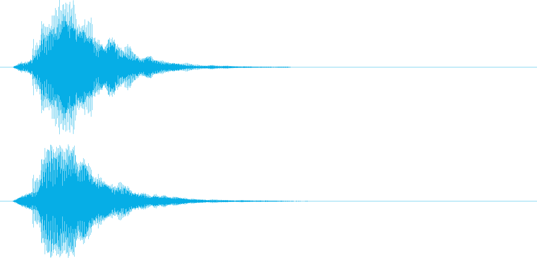 ピ!8bit系の決定/ボタン/クリック4の再生済みの波形