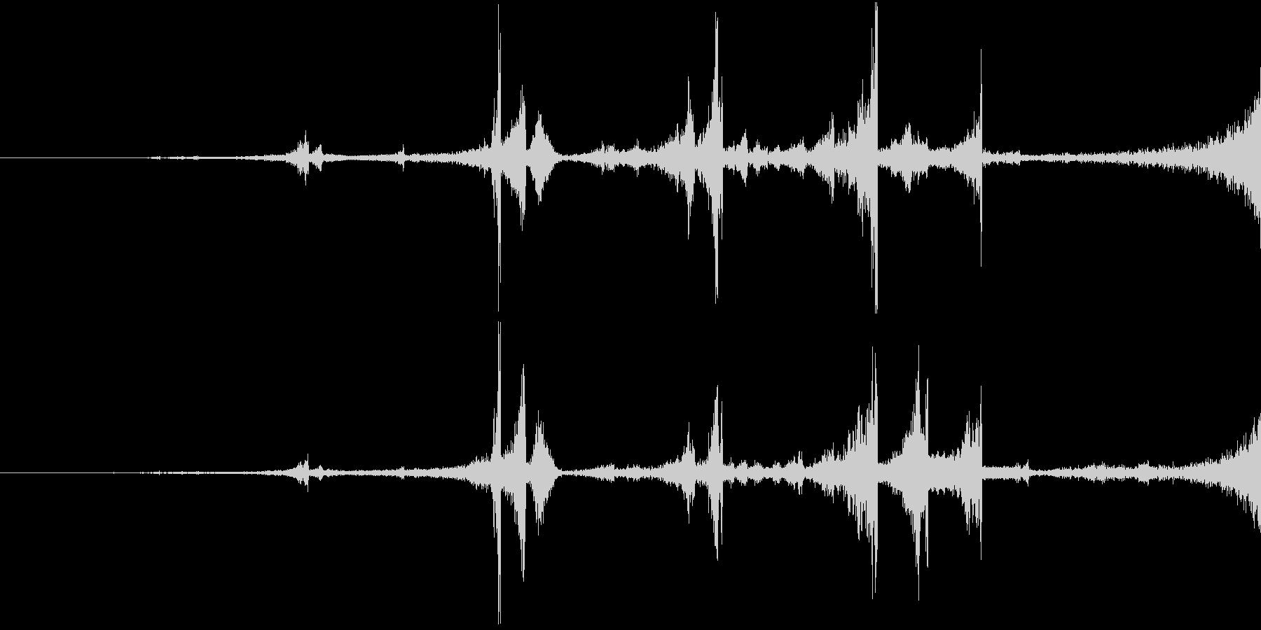 Zap 巻き戻し音・ザップ効果音 4の未再生の波形
