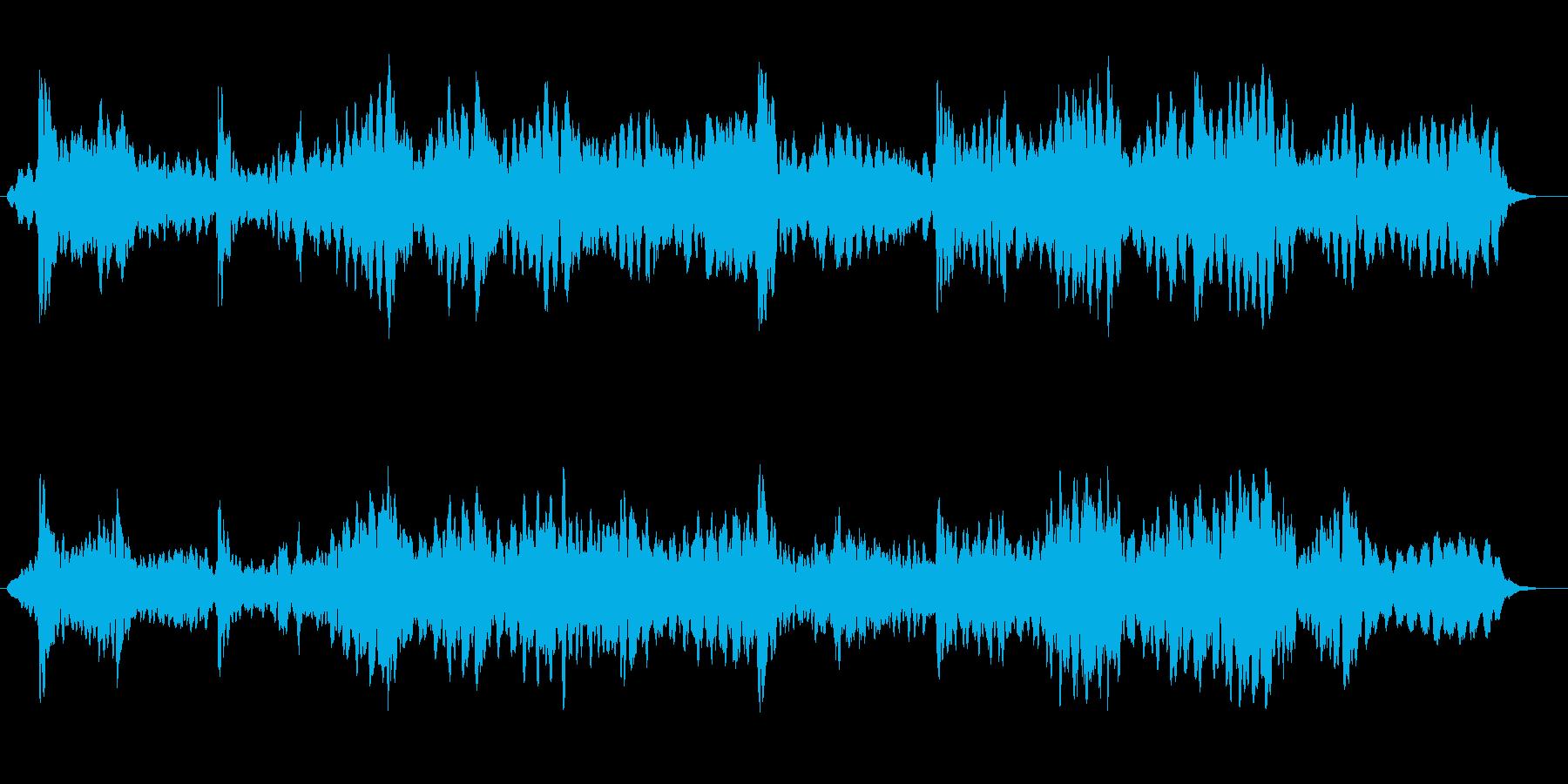 ゆったり神秘的なシンセ・ピアノサウンドの再生済みの波形