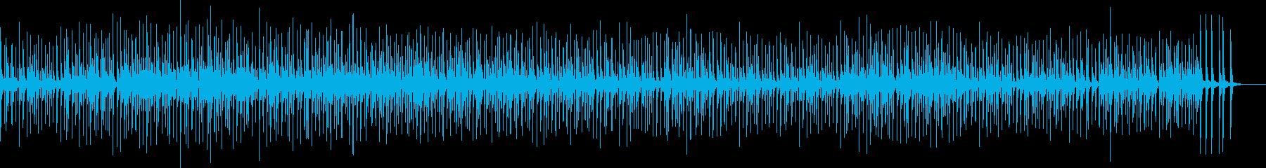 大地と太古を感じる太鼓の再生済みの波形