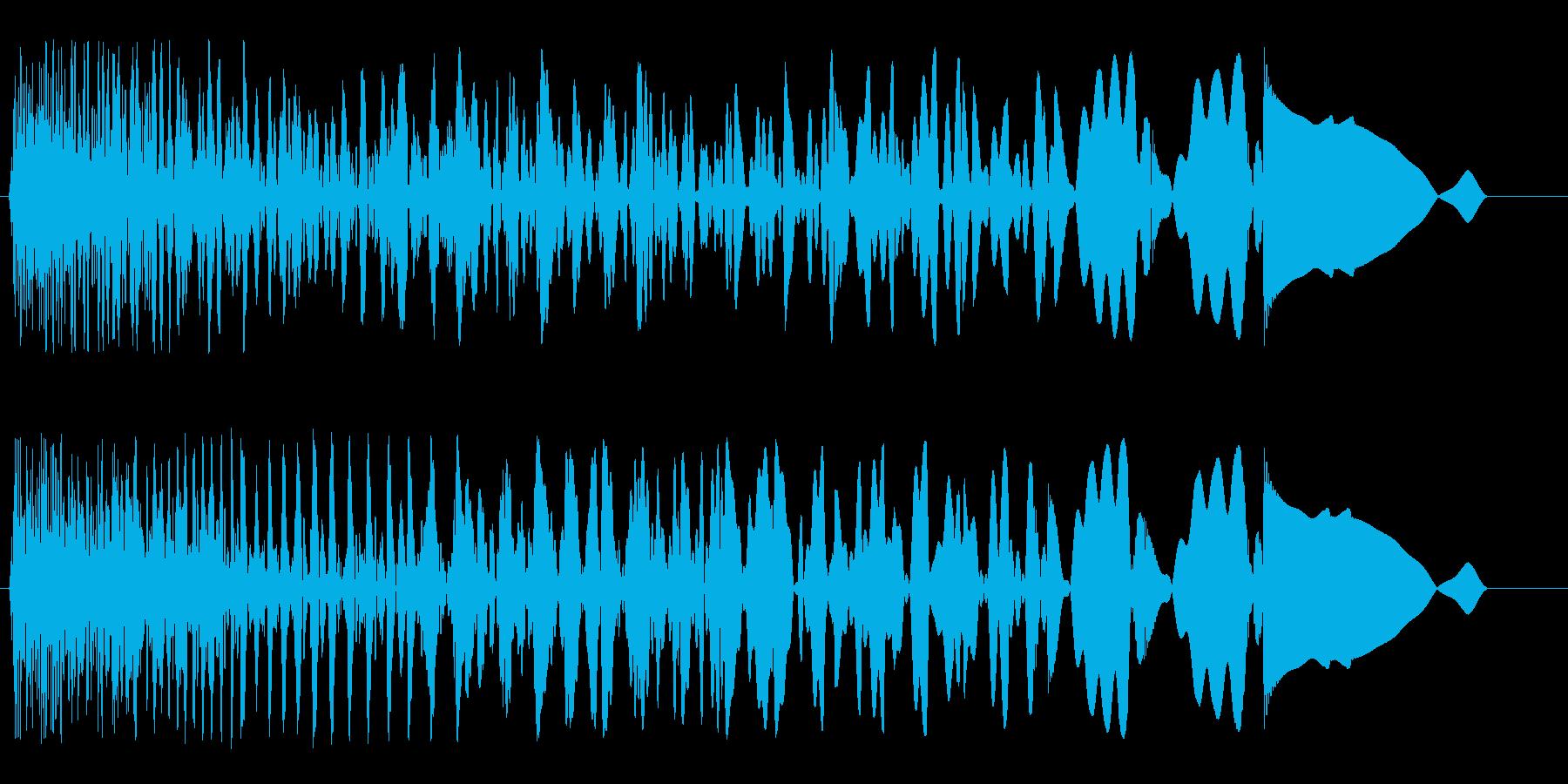 ビュゥゥ〜 (バネの伸び縮みのような音)の再生済みの波形