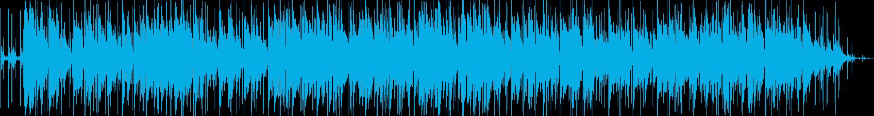おしゃれなリラクゼーションミュージックの再生済みの波形