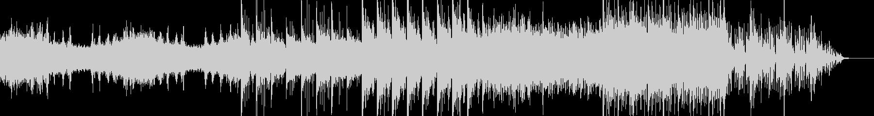 映像、背景的音楽ー湿地帯の未再生の波形