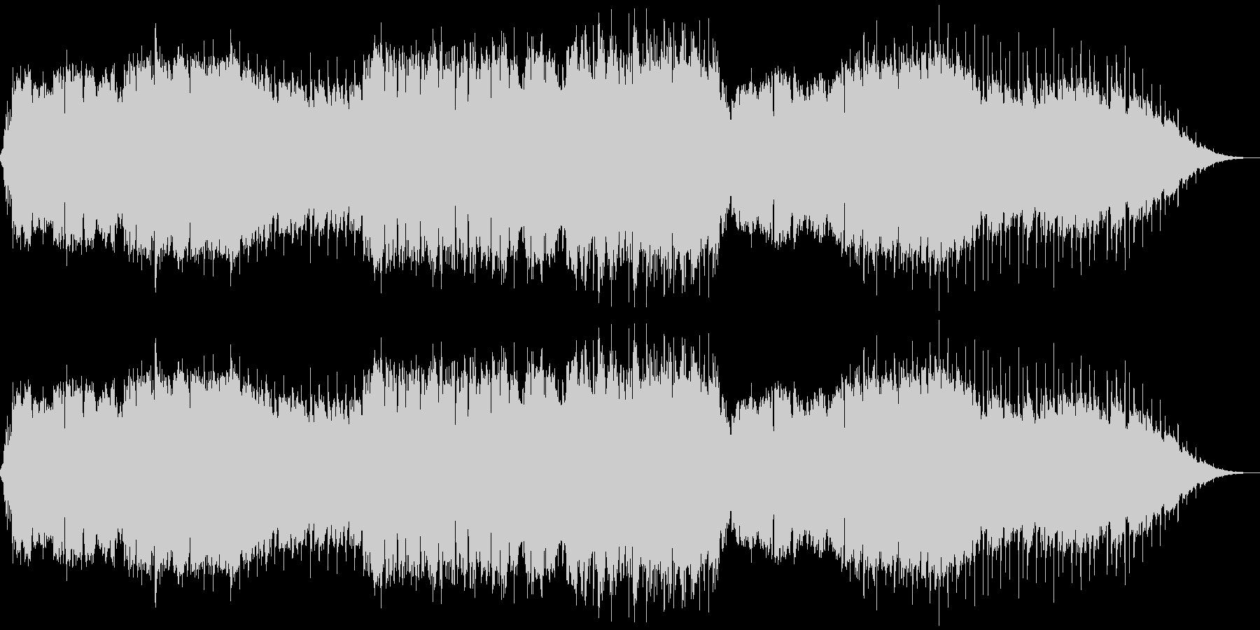 哀愁のある素朴な小曲(CM、映像)の未再生の波形