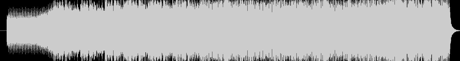 オーケストラによるダークなサウンドの未再生の波形