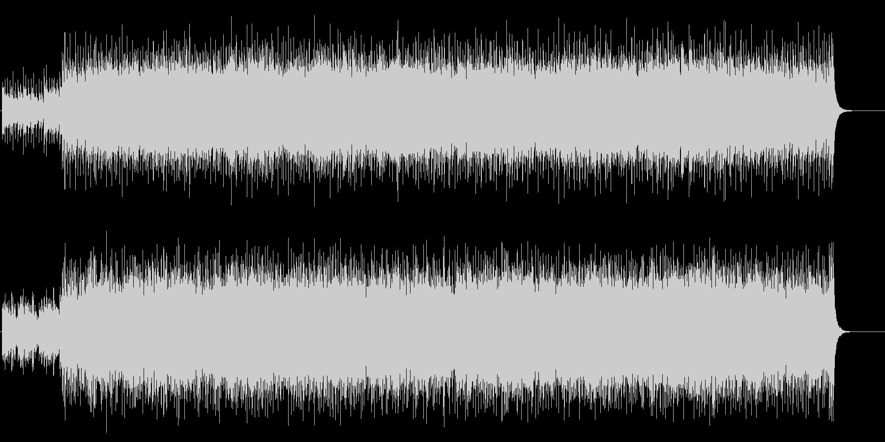 ドキュメント向けチューブラー・ベルの未再生の波形