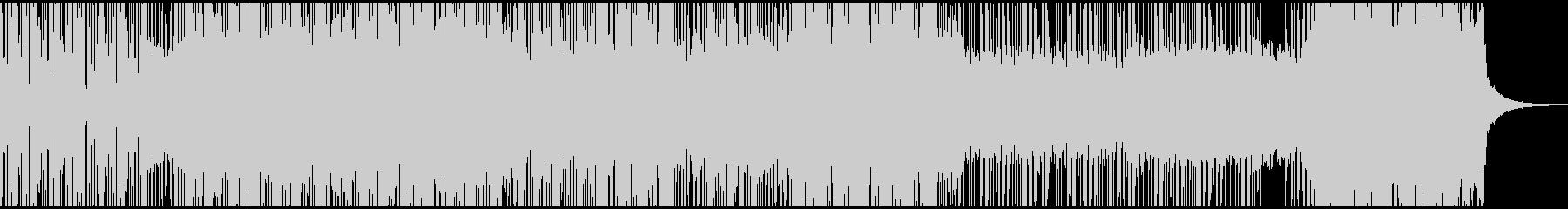 ダークでヘヴィなエレクトロニックロックの未再生の波形
