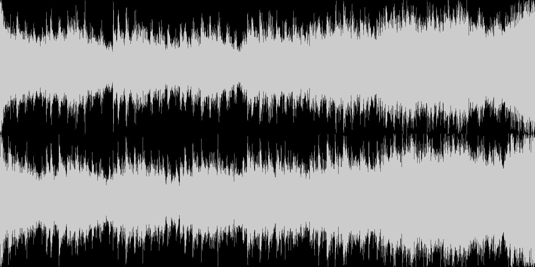 【ループG】パワフルで高揚感ピアノEDMの未再生の波形