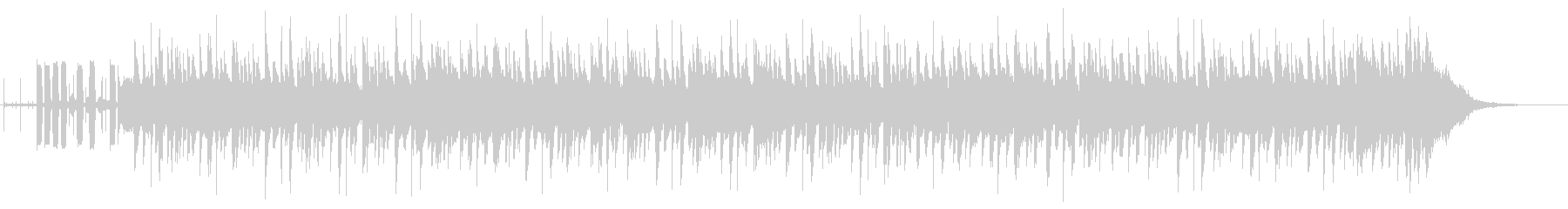 スタイリッシュなテンポ速めの曲ですの未再生の波形