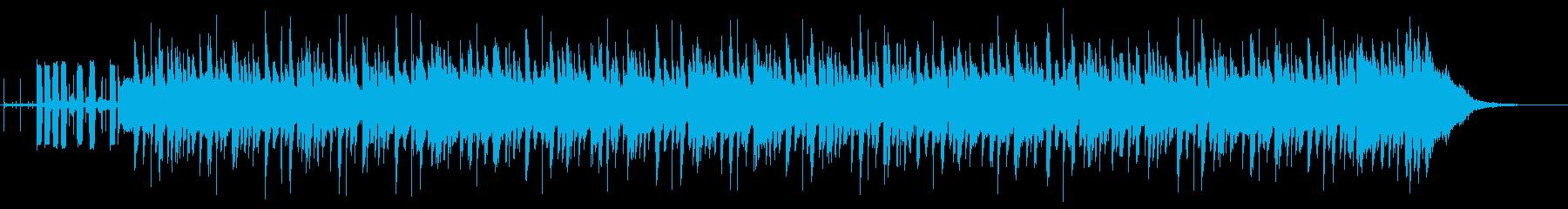 スタイリッシュなテンポ速めの曲ですの再生済みの波形