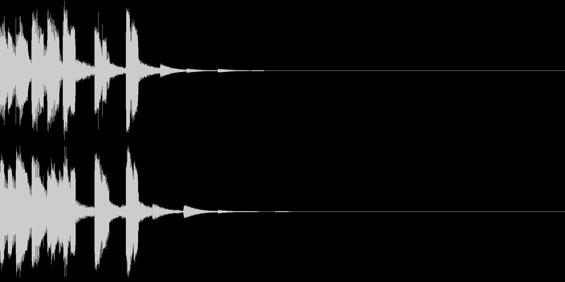 スタート アイテム 使う レベル ゲージの未再生の波形