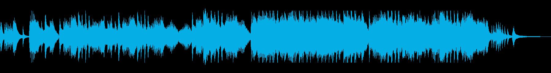 華麗でクラシカルなピアノバラードの再生済みの波形