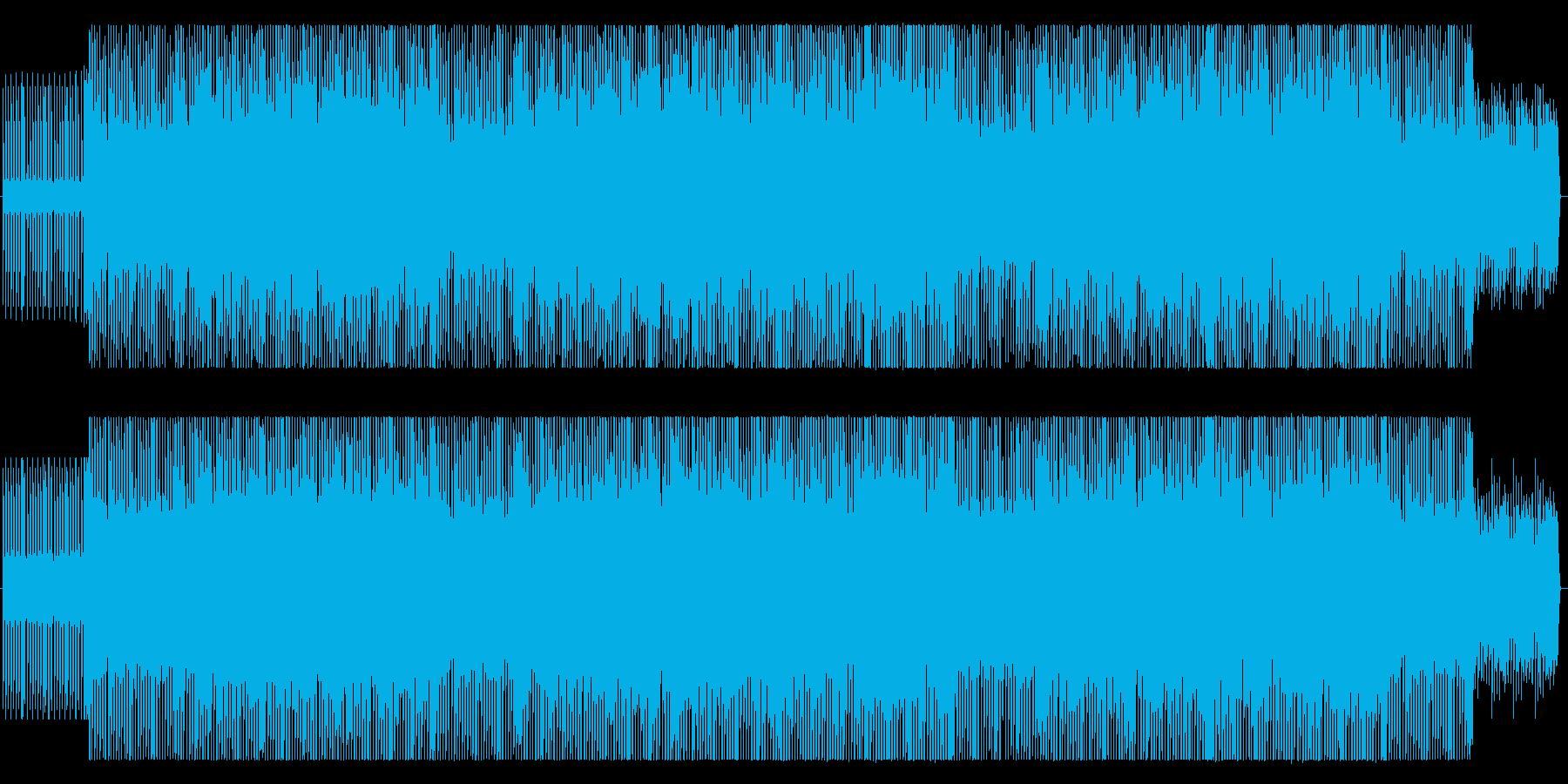 簡単なEDMです。の再生済みの波形