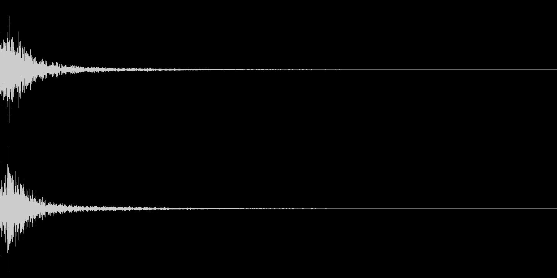 カン/作る/かなづち/アクセサリーの未再生の波形
