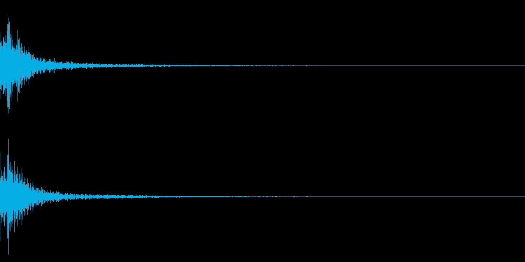 カン/作る/かなづち/アクセサリーの再生済みの波形
