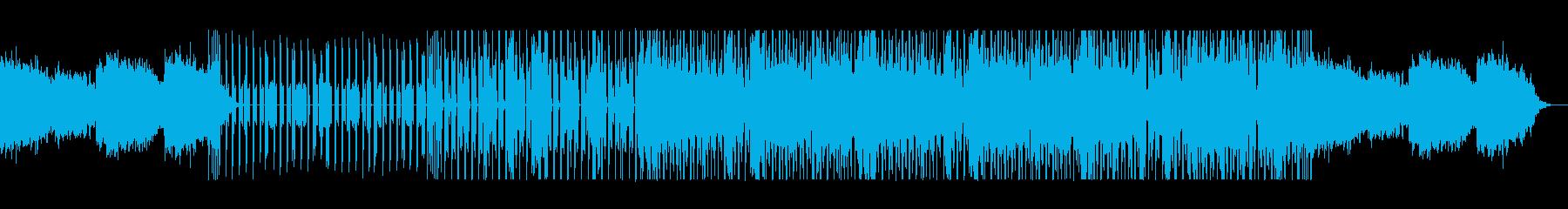 ダークで独創的なイージーリスニングの再生済みの波形