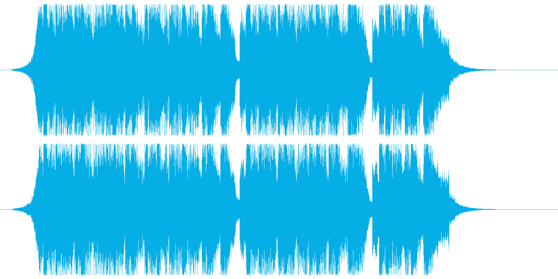 Pop/Fun/Melodicの再生済みの波形