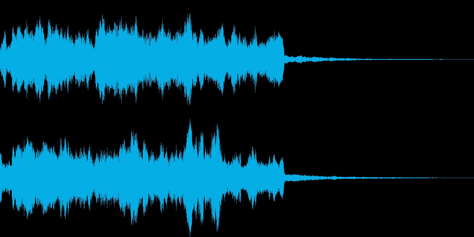ピアノ・アンビエントな神秘的始まりの再生済みの波形