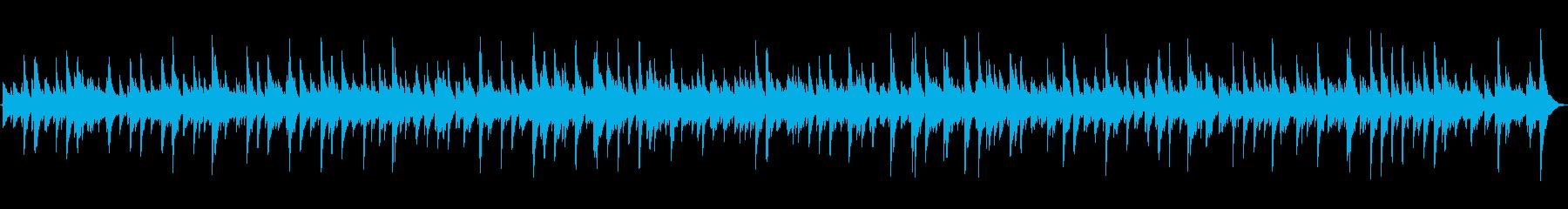 映画のワンシーンのようなピアノソロBGMの再生済みの波形