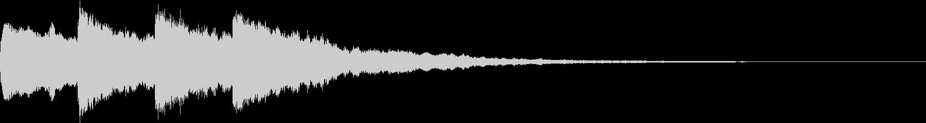シンプル アナウンス 案内 放送 5の未再生の波形