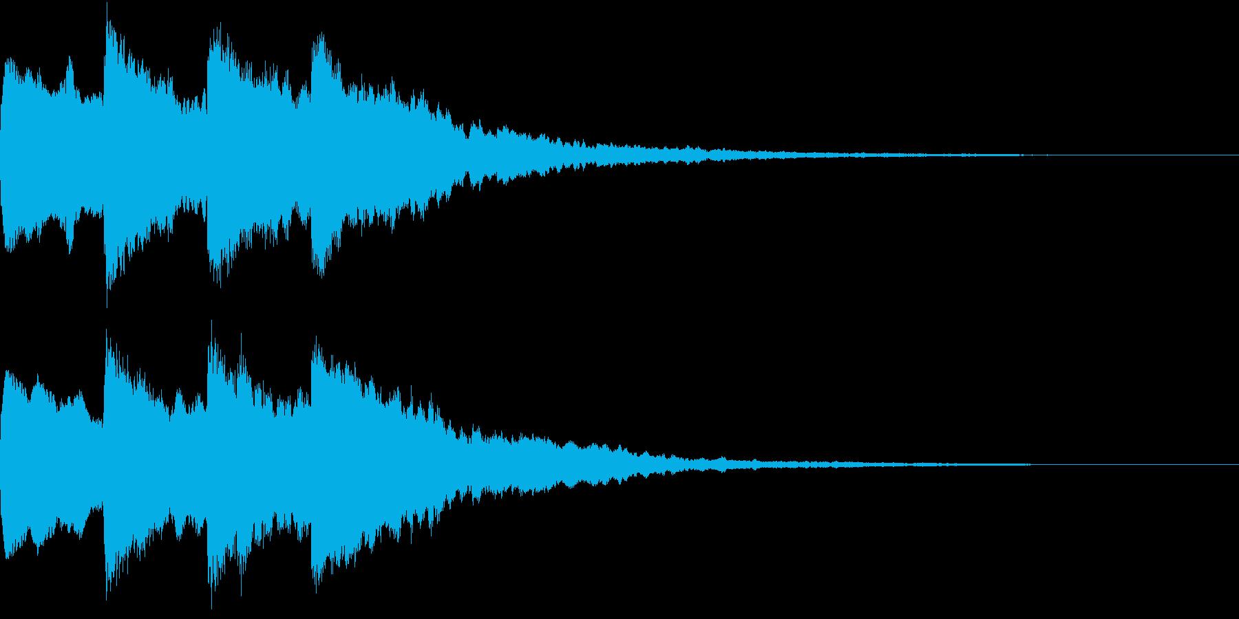 シンプル アナウンス 案内 放送 5の再生済みの波形