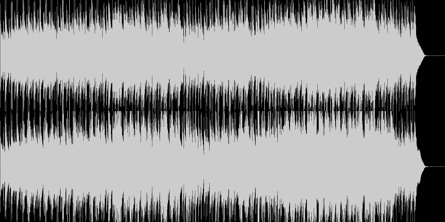 エンディングにぴったりのしっとりポップの未再生の波形