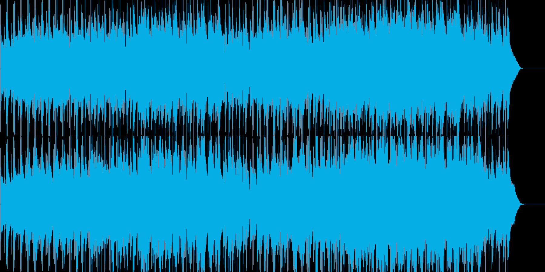 エンディングにぴったりのしっとりポップの再生済みの波形