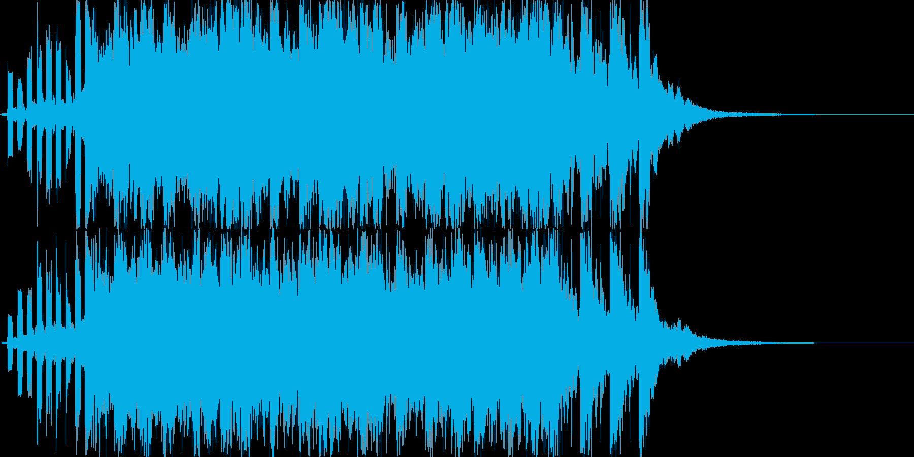 ゲームオーバージングルです。長め!の再生済みの波形