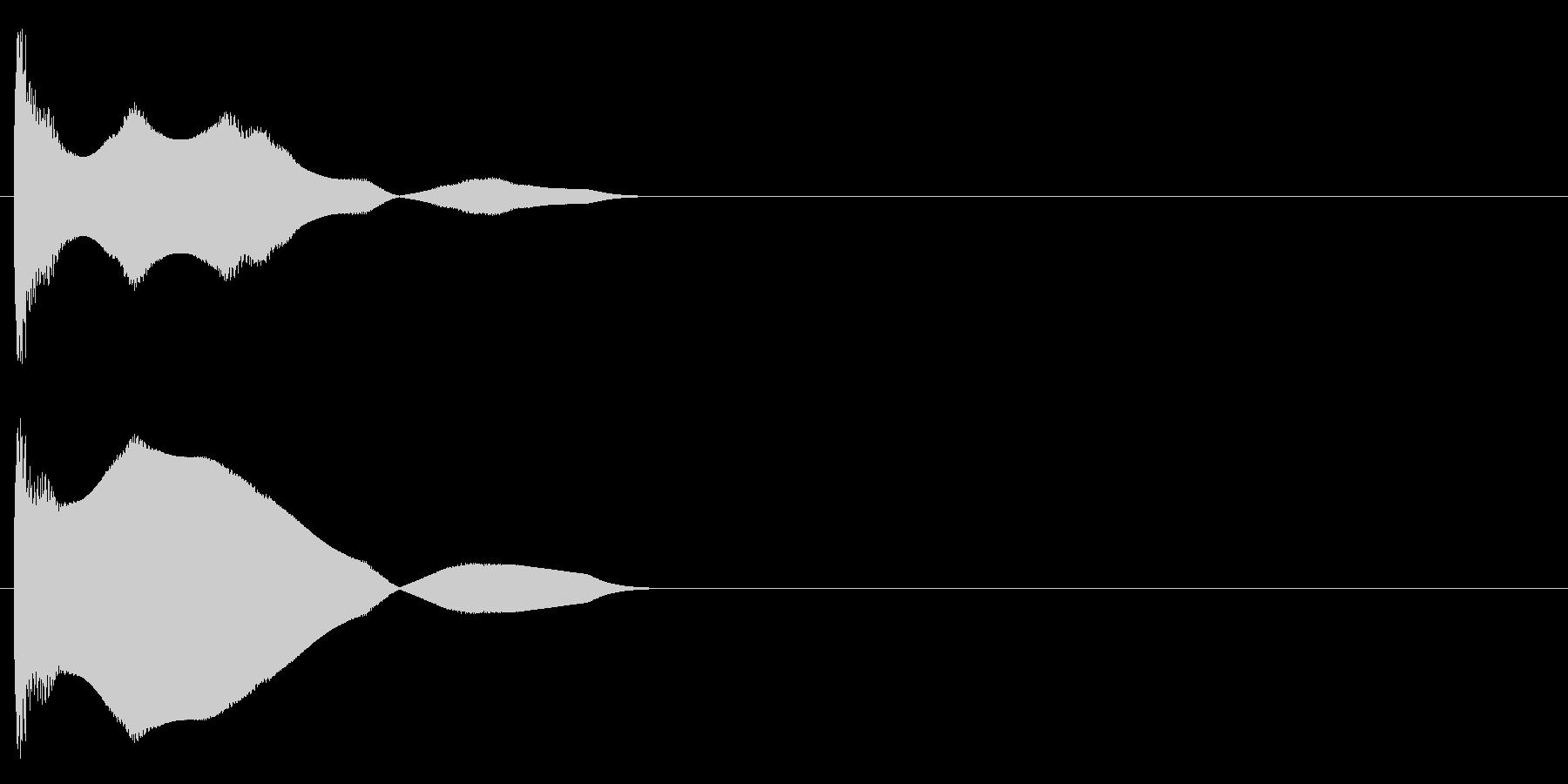 クーワァーの未再生の波形
