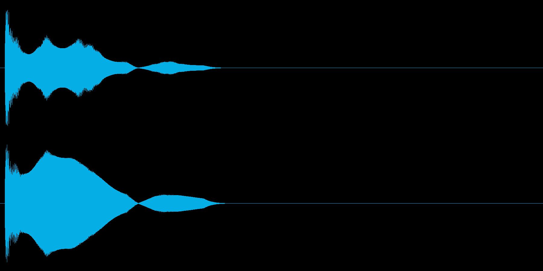 クーワァーの再生済みの波形