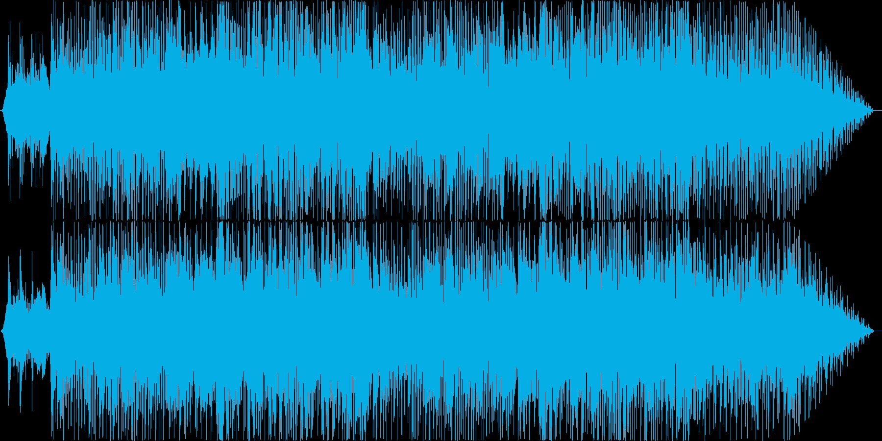 爽やかスムースジャズの再生済みの波形