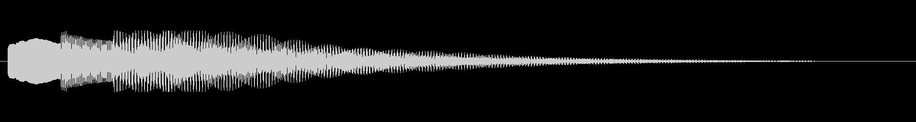 【チャイム アナウンス02-down2】の未再生の波形