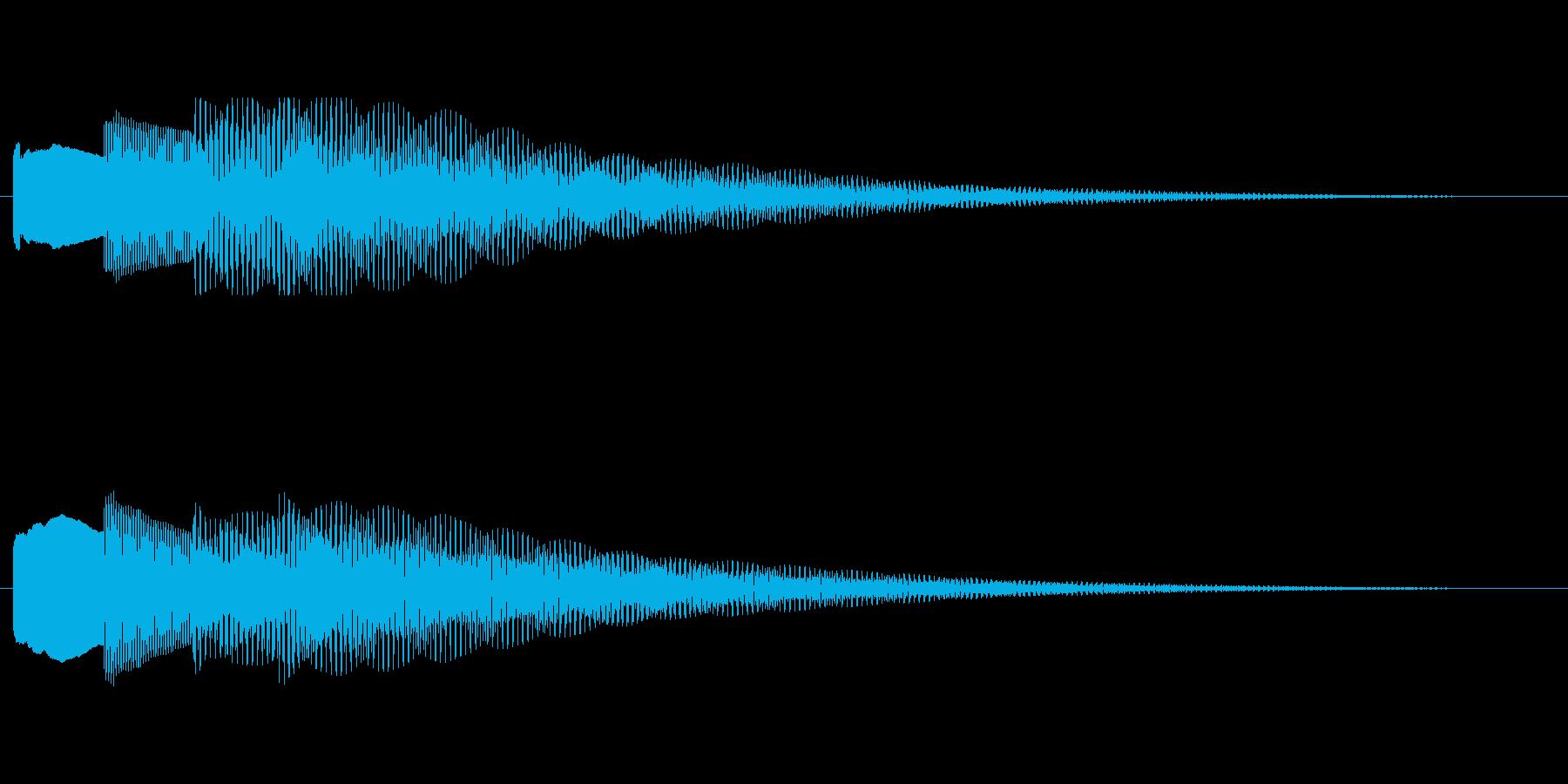【チャイム アナウンス02-down2】の再生済みの波形