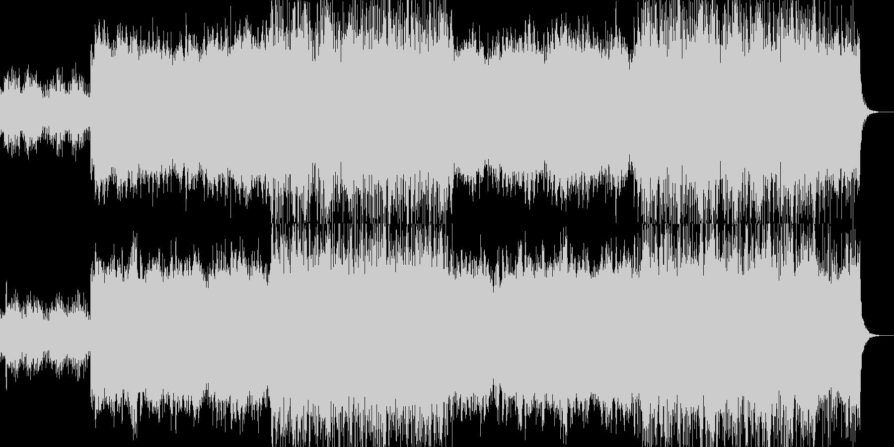 アンビエント環境音楽ヒーリング-11の未再生の波形