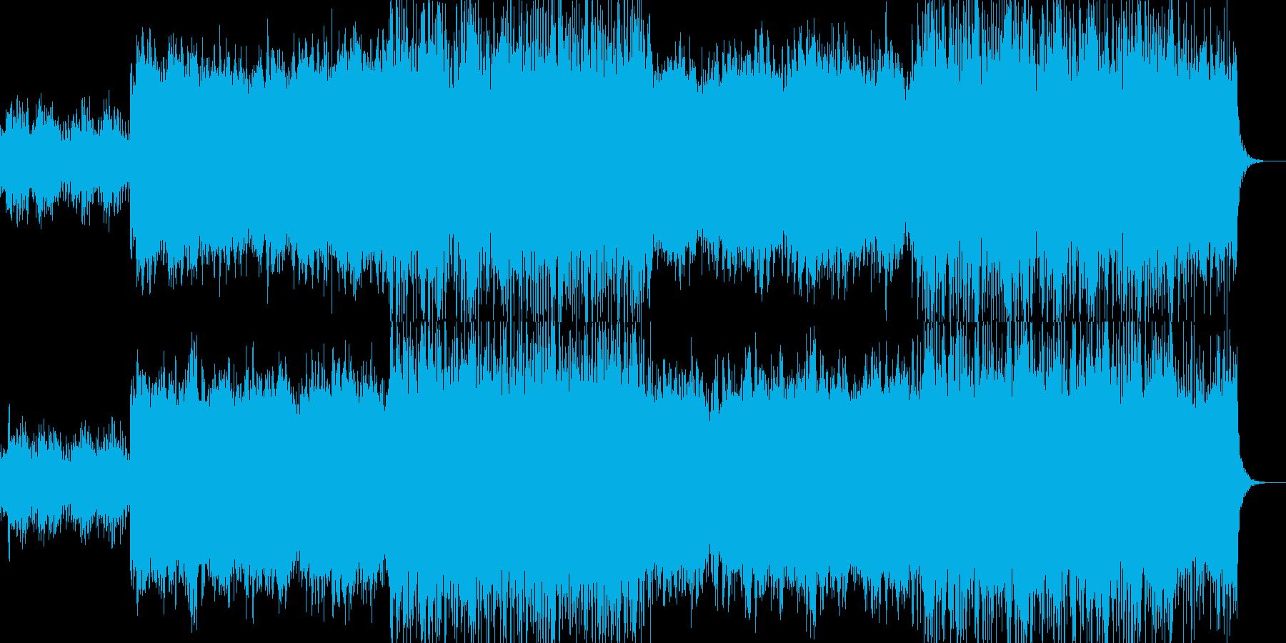 アンビエント環境音楽ヒーリング-11の再生済みの波形