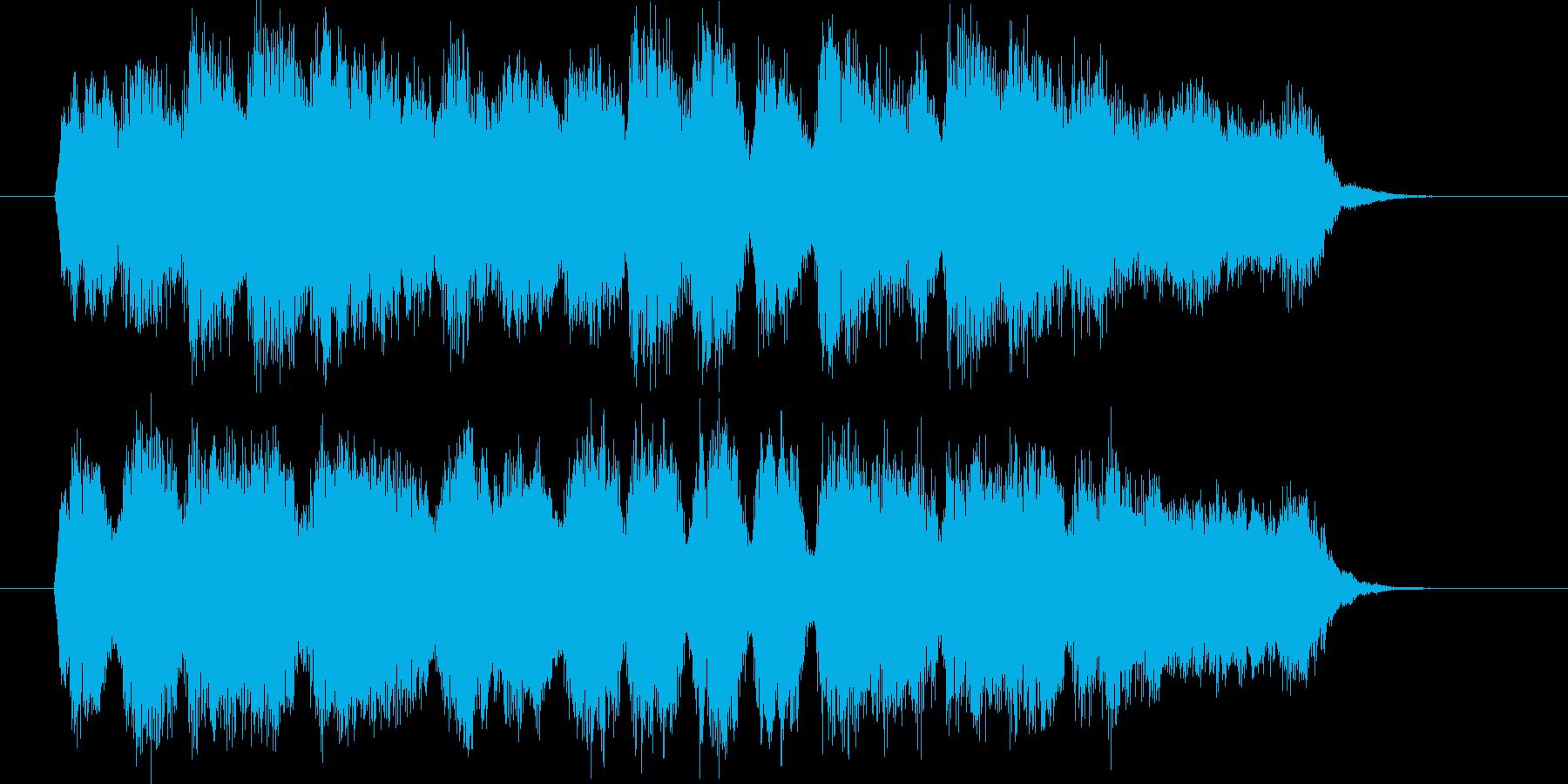 中世ヨーロッパ的なクラシックジングルの再生済みの波形