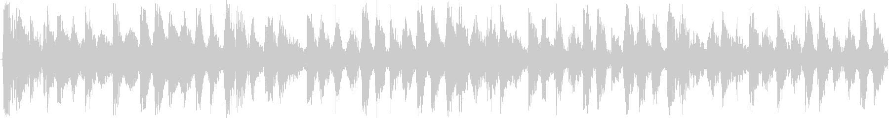 打楽器が特徴のミステリアスな民族風テクノの未再生の波形