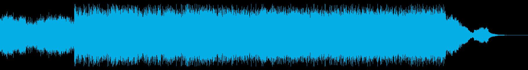力強くオーガニックなインストの再生済みの波形