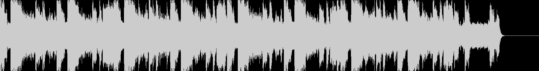 アグレッシブなEDM、アクセントにの未再生の波形