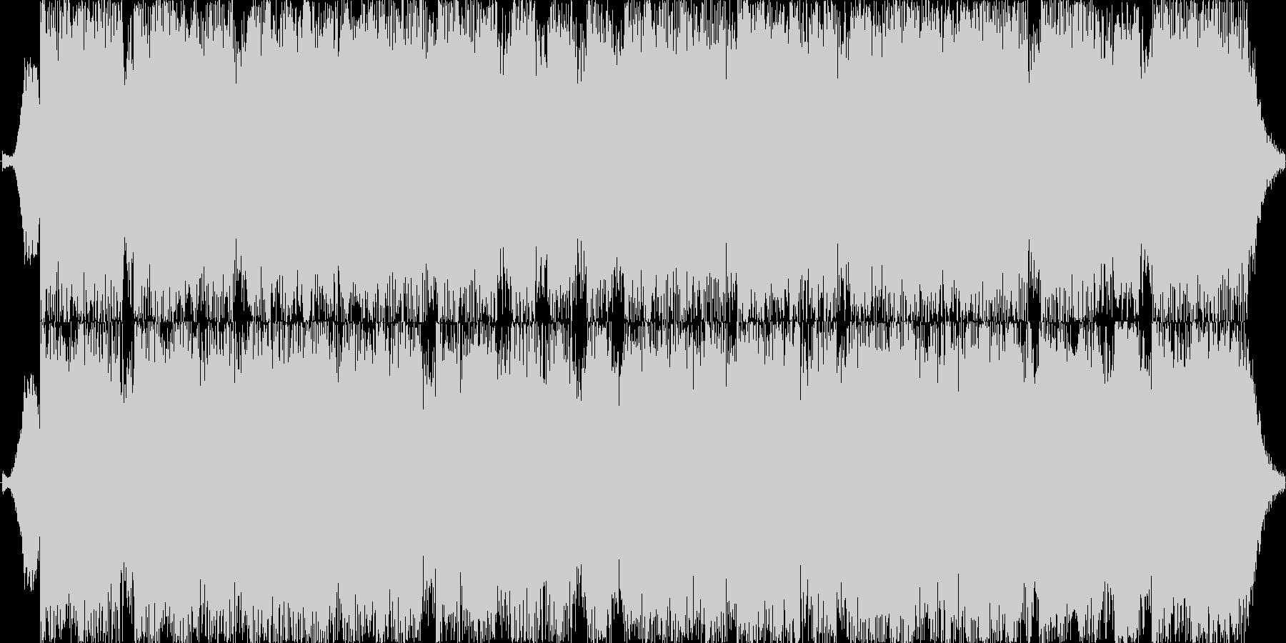15秒ジャスト激しめのダンスロックですの未再生の波形