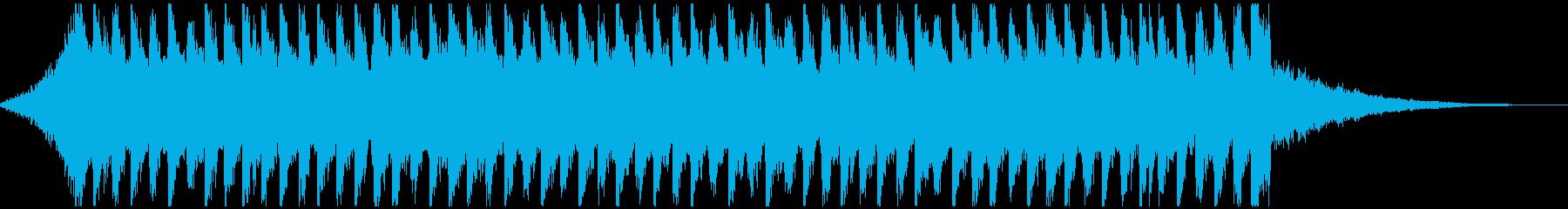 企業VP向け爽やかなポップ4つ打ち30秒の再生済みの波形