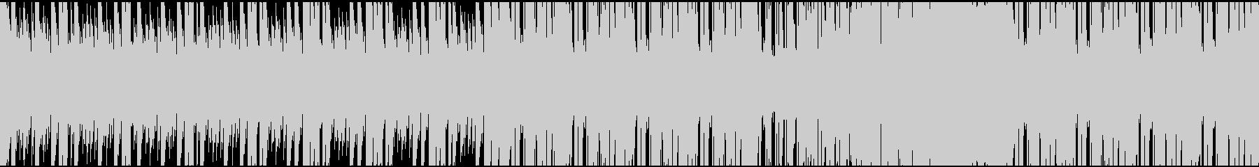 ゲーム・戦闘・ピアノ・シリアス・ループの未再生の波形