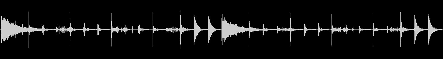 レトロなリズムボックスサウンド。リバー…の未再生の波形