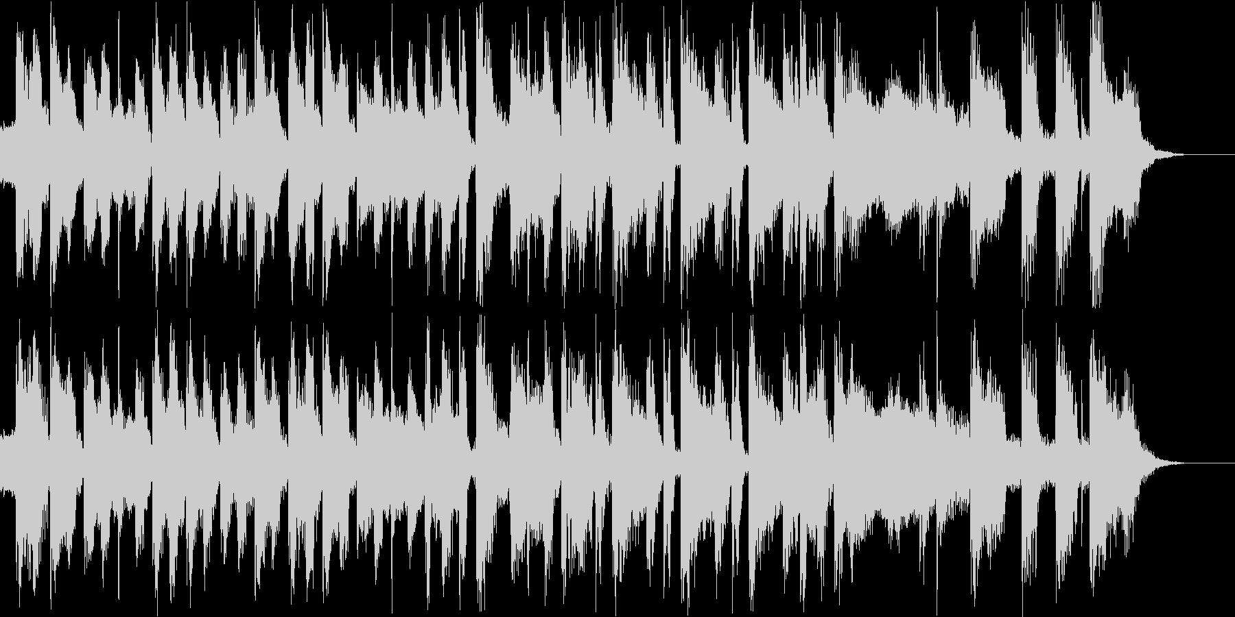 テクノで雰囲気があるBGMの未再生の波形