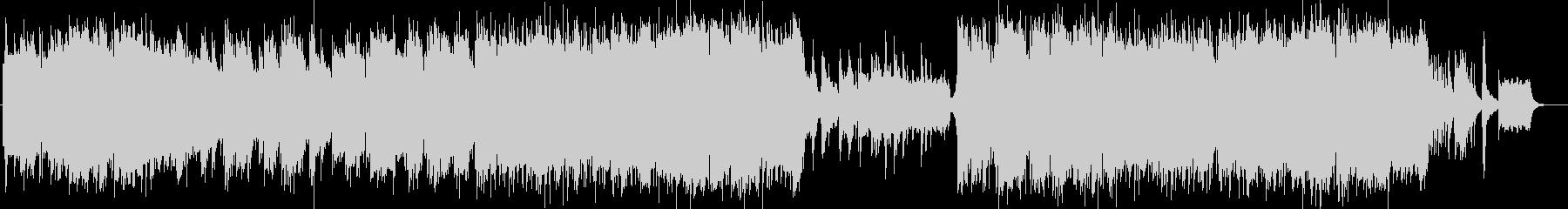 美しく切ないシンセピアノサウンドの未再生の波形
